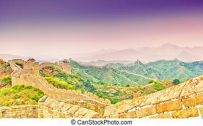 Great wall by Jinshaling - View on Great wall by Jinshaling...