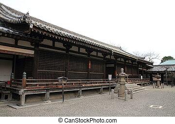 Shariden of Horyu ji in Nara, Japan