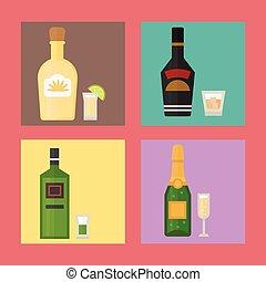 Alcohol drinks beverages cocktail card drink bottle lager...
