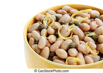 White Cannellini Beans with Capers and Lemon Zest