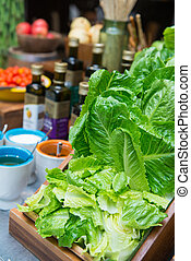 fresh chinese cabbage or bok choy, vegetable