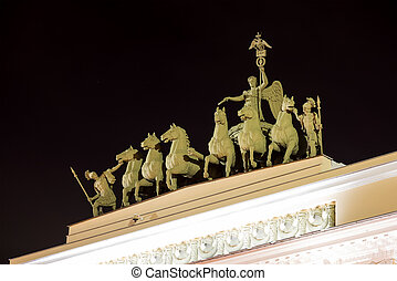 Chariot of Glory on the Triumphal Archof General Staff...