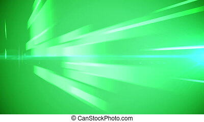 Green business lines background