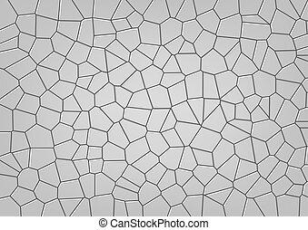 Stone Mosaic Pattern - Seamless Stone Mosaic Pattern -...