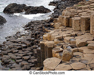 Rocks shaped like coins - Nature at its most strange. Years...