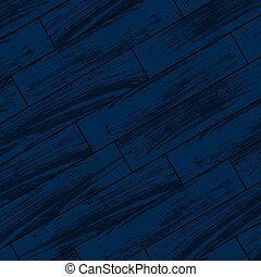 Dark blue wooden parquet - Abstract dark blue parquet or...