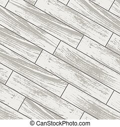 White wooden laminate - White laminate and parquet...