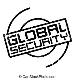 Global Security rubber stamp