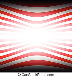 Two tone red stripes abstract background concept