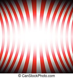 Two tone red stripes curve abstract background concept