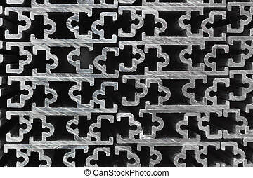 Extruded Aluminium Channel - Cross sections of extruded...