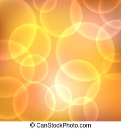 Shining orange background with light effects