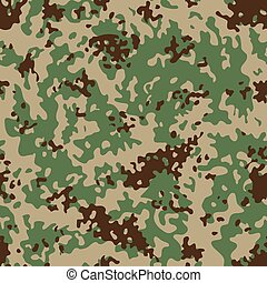 Indian Flectarn Camouflage seamless patterns