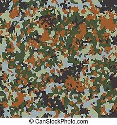 Belgian Flectarn Camouflage seamless patterns - Classic...