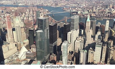 One World Trade Center Aerial View