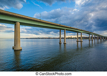 The Naval Academy Bridge over the Severn River, in...
