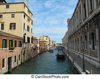 Tripping by the Venetian channels. - Tripping by the...