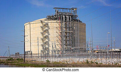 Liquefied Natural Gas Plant in Louisiana - Liquefied natural...