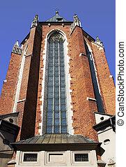 St. Mary\'s Basilica in Krakow, Poland