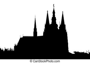 Cathedral - Outline of the cathedral