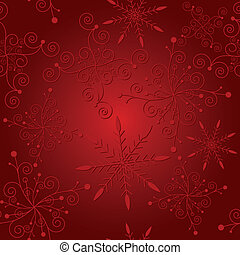 Abstract red christmas seamless - Abstract elegance red...