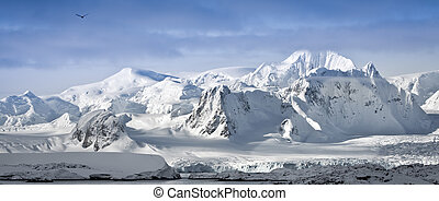 snow-capped mountains - Beautiful snow-capped mountains...