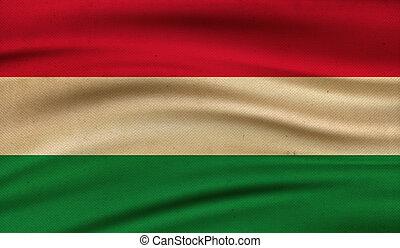 Flag of Hungary.