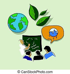 education and training on global warming eco environment...