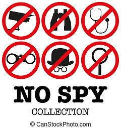 anti-spyware, Ilustración, icono
