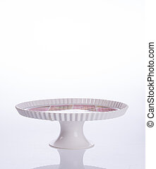cake stand or dessert stand on a backgeound. - cake stand or...