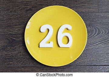 Figure twenty-six on the yellow plate. - Figure twenty-six...