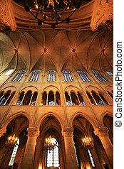 Notre dame de Paris - Cathedrale Notre Dame de Paris. France