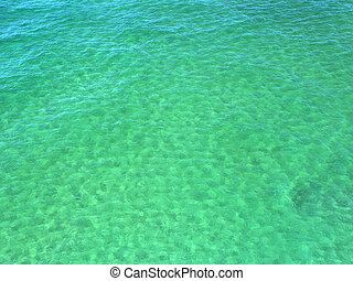 Turquoise water background