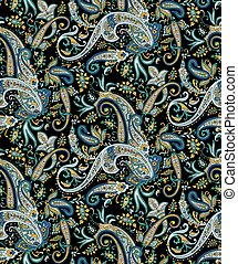 Vector - Seamless pattern based on traditional Asian element