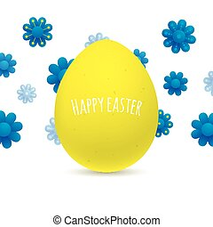 Easter greeting card design.