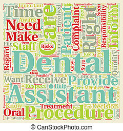 Patient Rights in Regard to Dental Care 1 text background...