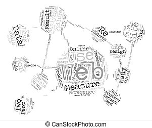 Problems With Web Analytics text background word cloud...