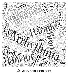 Prognosis and Treatment of Abnormal Heartbeats Word Cloud...