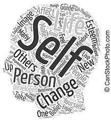 Personal Development Starter Guide text background wordcloud...