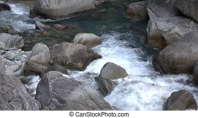 Small mountain cascade
