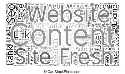 Reasons Why Fresh Content Is Imperative To Successful SEO...