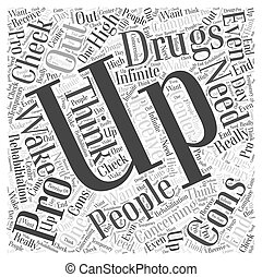 rehabilitation drugs Word Cloud Concept