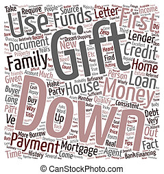 Refinance Mortgage Tips Down Payment With Gift Letter text...