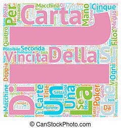 Scegliendo la migliore macchina text background wordcloud...