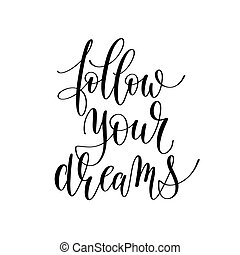 follow your dreams inspirational quote about summer travel