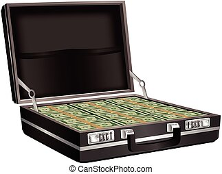 Briefcase full of cash.eps