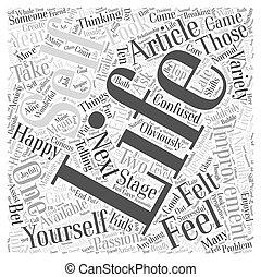 Self Improvement Article Word Cloud Concept