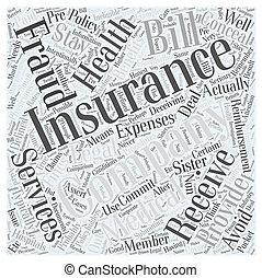 Stay Legal Avoiding Insurance Fraud Word Cloud Concept