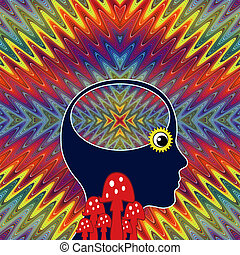 Woman with LSD Flashback - The long term effects after using...