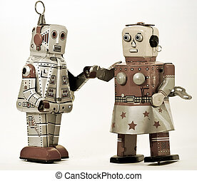 robots - two robots together